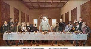 Last Supper Meme - the last supper with scientists ha tea n danger