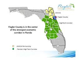 Fl County Map Maps Flagler County