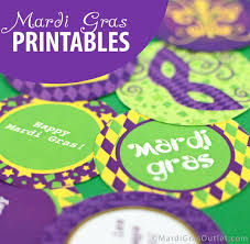 mardi gras decorations to make party ideas by mardi gras outlet free mardi gras printable