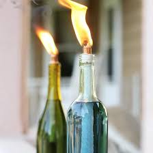 how to keep bugs away from porch citronella candles made in recycled wine bottles to keep bugs away