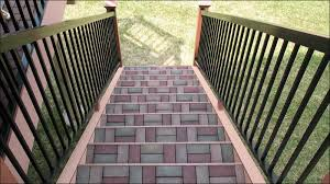 Composite Patio Pavers by Landscape Contractors Can Boost Installation Efficiency With