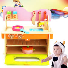 Toy Kitchen Set Wooden Online Get Cheap Wood Kitchen Set Aliexpress Com Alibaba Group
