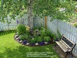 Shade Tree For Small Backyard - best 25 tree garden ideas on pinterest fairy garden doors