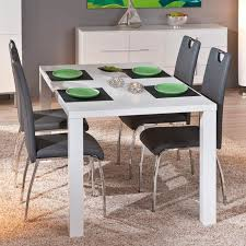 table meuble cuisine table rectangulaire meuble cuisine salle manger design extensible