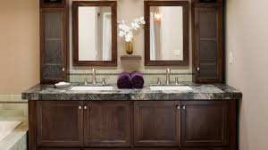 the countertop linen storage in the bathroom counter storage