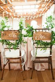 and groom chair covers and groom chair decorations greenery garland greenery and