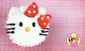 kitty cupcake decorating tutorial easy cute
