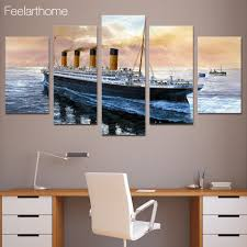 online shop hd printed titanic movie boat painting children u0027s room