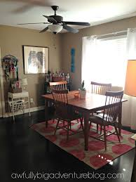 Ceiling Fans For Dining Rooms House Tour Dining Room U2013 Awfully Big Adventure