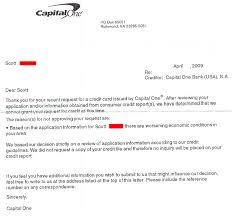 capital one sites worsening economic conditions for refusing