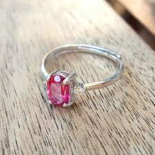new jewelry rings images New natural pink topaz gemstones 925 sterling silver vintage jpg