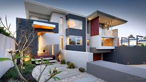 architecture modern modular homes design with storey using green
