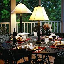 Outdoor Table Lighting Outdoor Table Ls Archives Legend Lighting In Idea