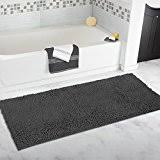 Gray And White Bathroom Rugs Amazon Com Grey Bath Rugs Bath Home U0026 Kitchen