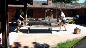 used outdoor ping pong table used outdoor ping pong table unique ana white best outdoor design