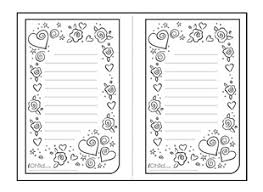 valentine lined writing paper template vertical ichild