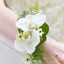 white corsages for prom prom collection flowers to wear