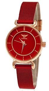 designer damenuhren elegante ny designer damenuhr damen armband uhr rot