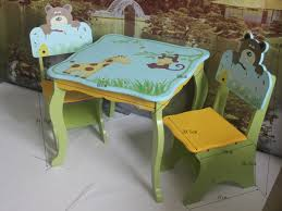 animal table and chairs set play tables 2 8 years study