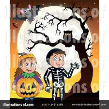 halloweenclipart halloween clipart 1423549 illustration by visekart