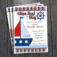 nautical baby shower invitations nautical baby shower invitations free free invitations ideas