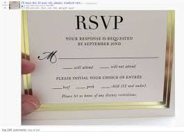 wedding invitations calgary wedding rsvp goes viral arabia weddings