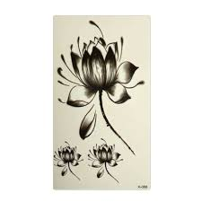 Fleur De Lotus Tattoo by Online Get Cheap Lotus Flower Tattoos Aliexpress Com Alibaba Group
