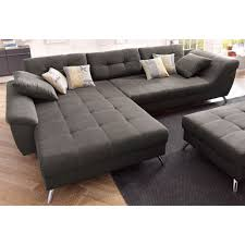canap d angle confortable canapé d angle avec méridienne modulable un style très contemporain