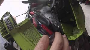 how to replace the fuel line on a poulan 2300 cva chainsaw youtube