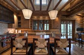 rustic home interior designs mountain home surrounded by forest offers rustic living in montana