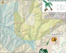 Henry Coe State Park Map by Expertgps Calibrated Maps