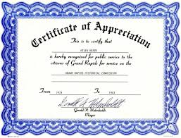 award certificate samples appreciation award certificate templates free templates resume