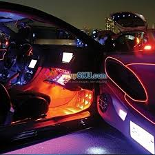 installing led lights in car 3m flexible 3 mode el wire led light neon glowing for party