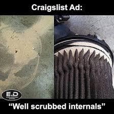 Diesel Memes - engineereddiesel meme craigslist sand in filter