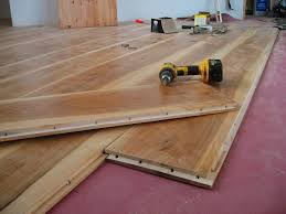 Laminate Flooring Wide Plank A Wide Plank Floor From Cutting Trees To Installation Johnny D Blog
