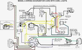 wiring diagram model a ford model a ford wiring diagram