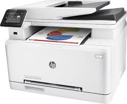 hp laserjet pro m277dw wireless color all in one printer gray