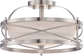 amazon com nuvo lighting 60 5331 two light semi flush mount