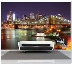 Skyline Wallpaper Bedroom New York Style Bedroom Wallpaper Bedroom Home Design Ideas