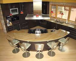 circular kitchen island kitchen island circular kitchen island with seating and stove