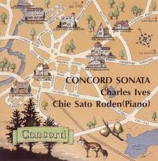 Concord Massachusetts Map by Concord Sonata U2013 Chie Sato Roden
