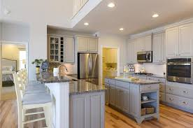 Country Kitchen Island Kitchens Island And Peninsula Country Kitchen With Breakfast Bar