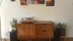 Midcentury Modern Sideboard Unboxing Setup Better Homes U0026 Gardens Flynn Mid Century Modern