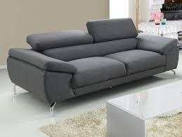 canapé 2 ou 3 places en tissu imperméable 2 coloris gretel