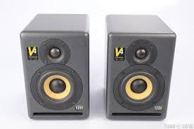 krk home theater krk v4 active studio reference monitor speaker pair 22445 ebay