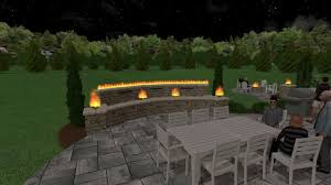 Pergola With Fire Pit by Outdoor Patio With Pergola Multiple Fire And Water Features And