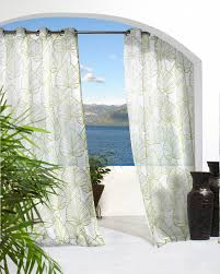 White Outdoor Curtain Panels Indoor Outdoor Curtains Displaying Beautiful Details That Can Be