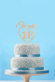 customzied birthday cake topperrutsic baby name cake