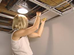 installing can lights in ceiling how to install an acoustic drop ceiling how tos diy