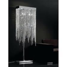 modern crystal floor lamp bed s modern crystal chandelier floor